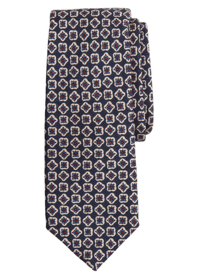 Brooks Brothers Geometric Tile Wool Tie