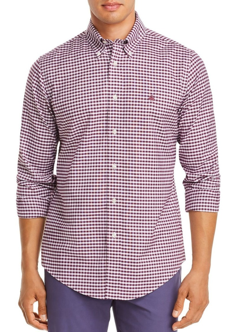 Brooks Brothers Gingham Classic Fit Button-Down Shirt