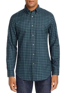 Brooks Brothers Gingham Regent Brushed Oxford Classic Fit Button-Down Shirt