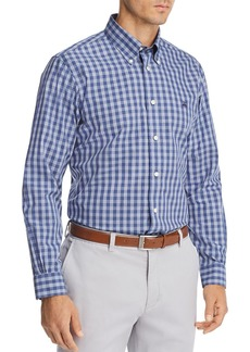 Brooks Brothers Gingham Regular Fit Button-Down Shirt