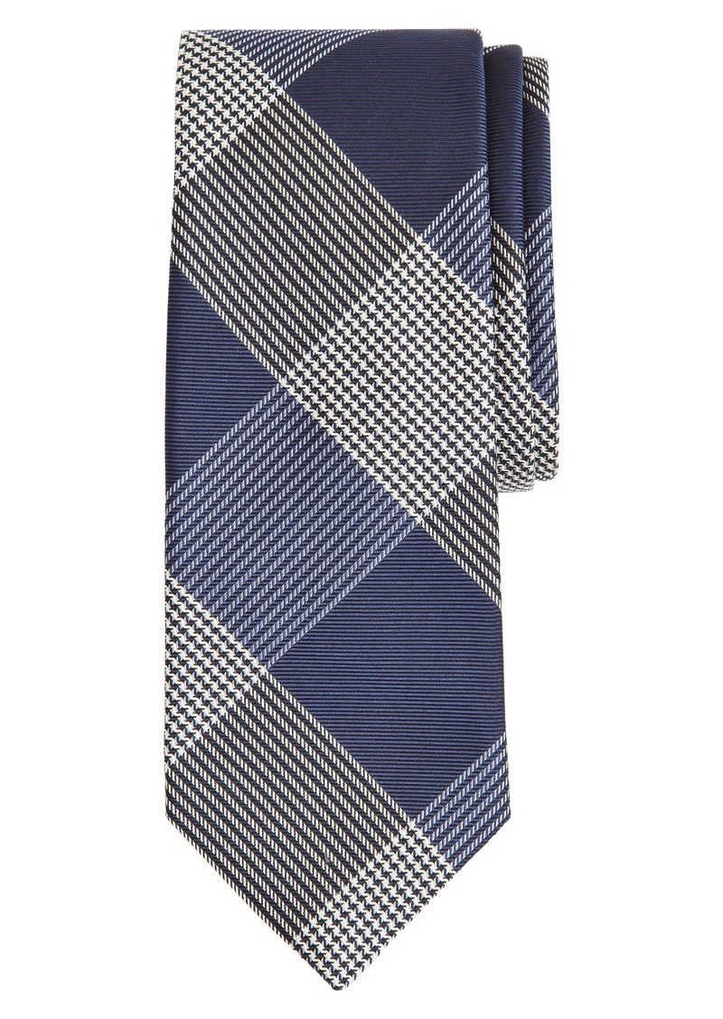 Brooks Brothers Glen Plaid Silk Tie