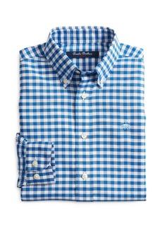 Brooks Brothers Golden Fleece� Boys' Non-Iron Gingham Oxford Dress Shirt - Big Kid