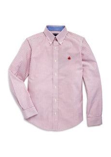 Brooks Brothers Golden Fleece� Boys' Striped Oxford Sport Shirt - Big Kid