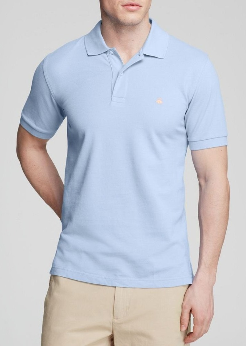 Brooks Brothers Brooks Brothers Knit Slim Fit Polo