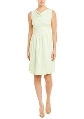 Brooks Brothers Linen-Blend A-Line Dress