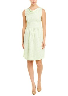 Brooks Brothers Linen-Blend A-Line Dress