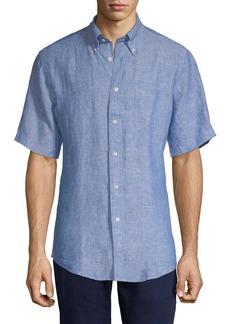 Brooks Brothers Linen Button-Down Shirt