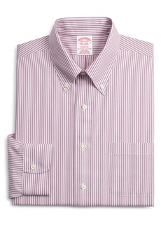 Brooks Brothers Madison Classic Fit Stripe Dress Shirt (3 for $207)