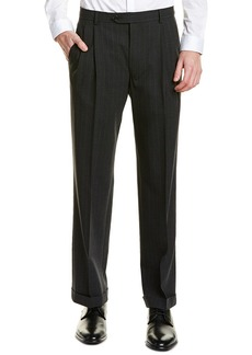 Brooks Brothers Madison Fit Pleated Wool Blend Trouser