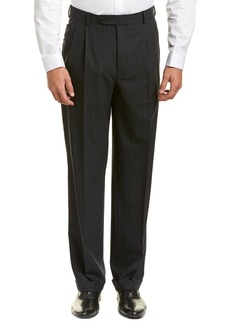 Brooks Brothers Madison Fit Wool-Blend Trouser