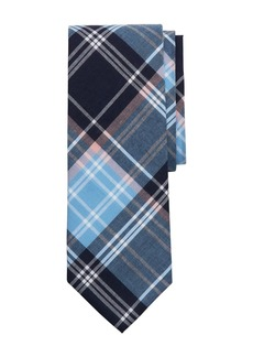 Brooks Brothers Madras Plaid Classic Tie
