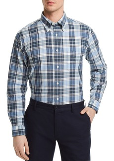 Brooks Brothers Madras Plaid Regular Fit Button-Down Shirt