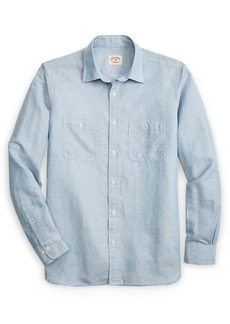 Brooks Brothers Red Fleece Men's Chambray Shirt