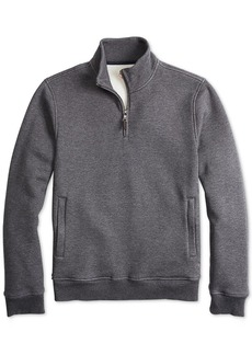 Brooks Brothers Men's Quarter-Zip Fleece Pullover