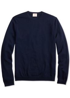 Brooks Brothers Men's Red Fleece Merino Wool Sweater