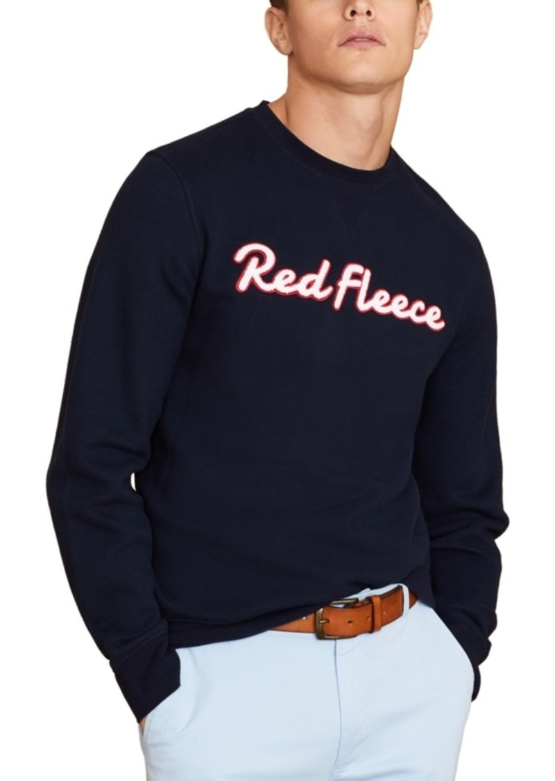 Brooks Brothers Men's Red Fleece Sweatshirt