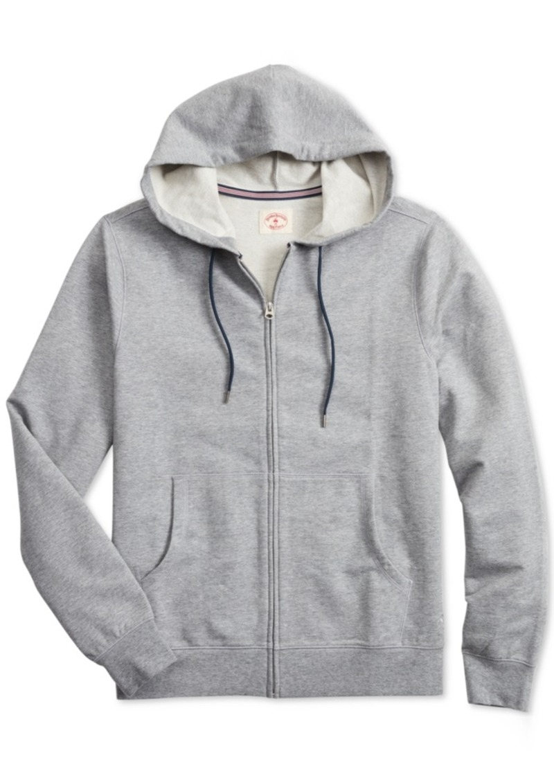 Brooks Brothers Men's Zip-Front Hoodie