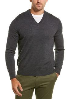 Brooks Brothers Merino V-Neck Sweater