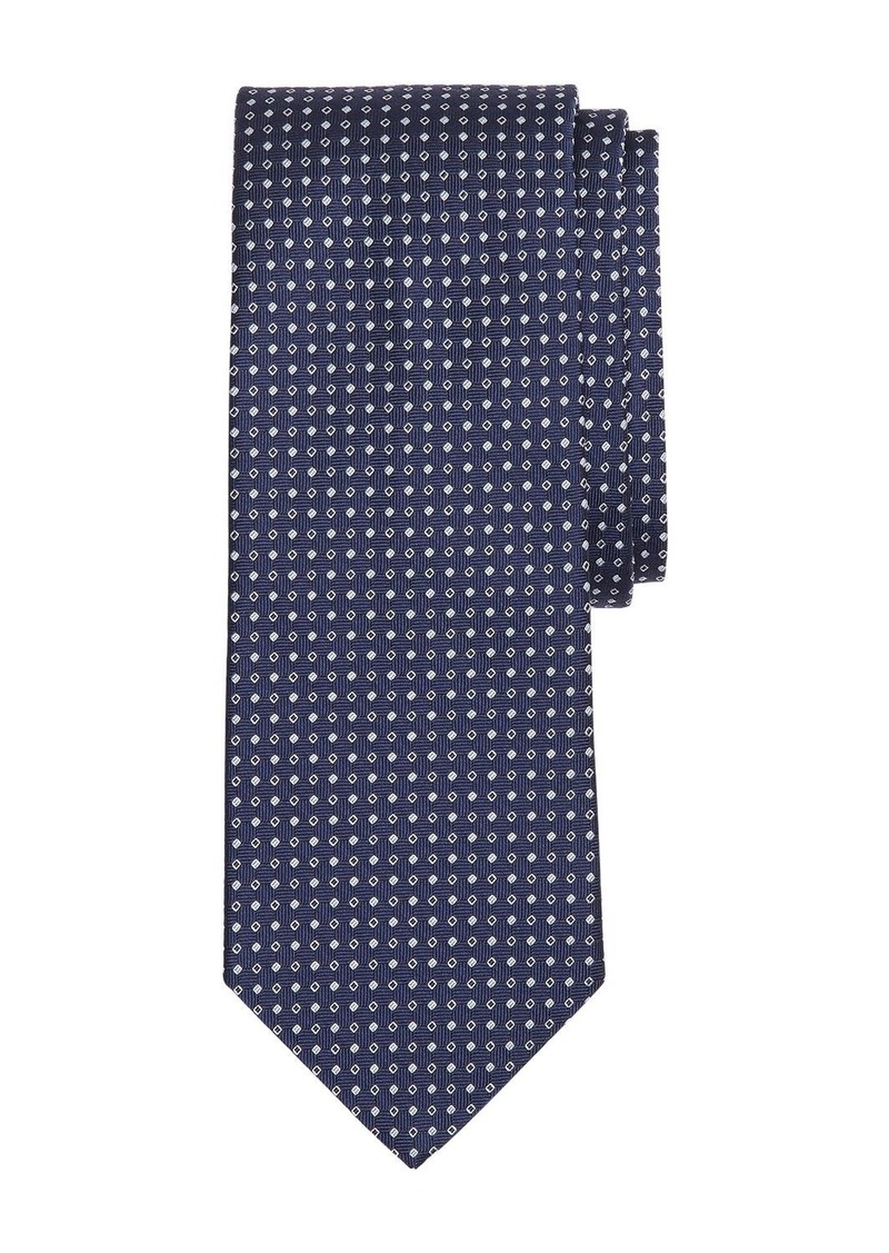 Brooks Brothers Micro-Squares Classic Tie