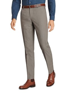 Brooks Brothers Milano Micro-Houndstooth Slim Fit Chinos