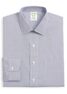 Brooks Brothers Milano Trim Fit Check Dress Shirt
