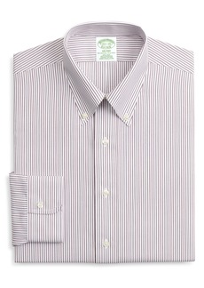 Brooks Brothers Milano Trim Fit Non-Iron Stripe Dress Shirt (Any 3 for $207)