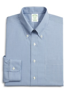 Brooks Brothers Milano Slim Fit Plaid Dress Shirt (3 for $207)