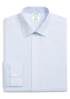 Brooks Brothers Milano Trim Fit Print Dress Shirt