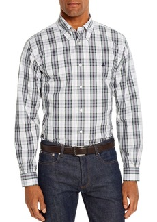 Brooks Brothers Pinpoint Plaid Classic Fit Button-Down Shirt