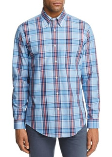 Brooks Brothers Plaid Regular Fit Button-Down Shirt