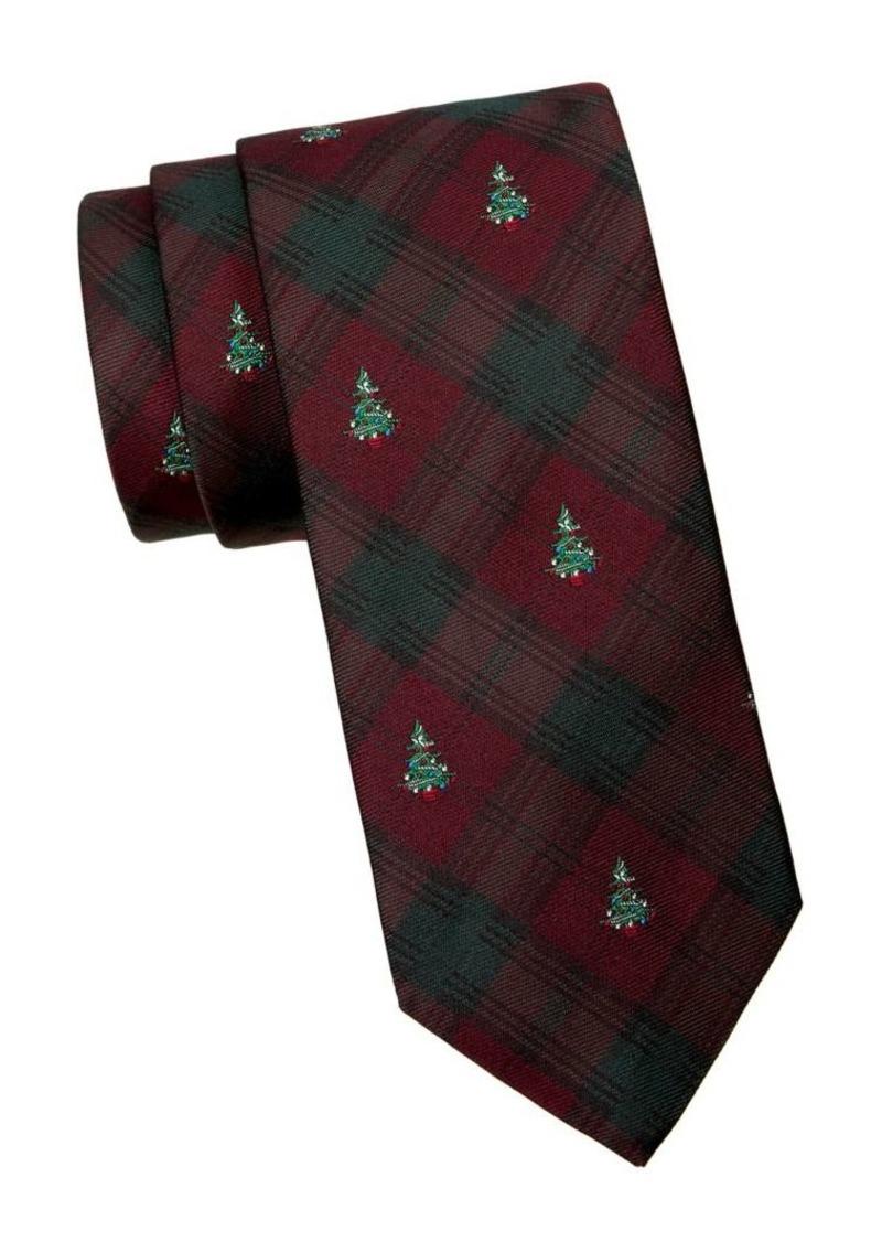 Brooks Brothers Printed Silk Tie