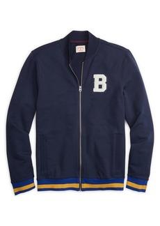 Brooks Brothers Red Fleece B Baseball Jacket