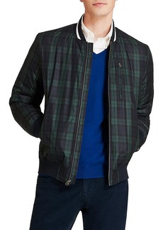 Brooks Brothers Red Fleece Blackwatch Bomber Jacket