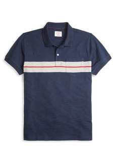 Brooks Brothers Red Fleece Chest Stripe Cotton Polo