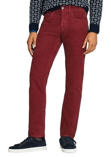 Brooks Brothers Red Fleece Classic Slim-Fit Pants