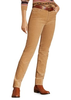 Brooks Brothers Red Fleece Corduroy Skinny Pants
