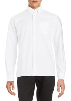 Brooks Brothers Red Fleece Cotton Casual Buttom-Down Shirt