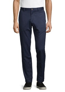 Brooks Brothers Red Fleece Cotton Chino Pants