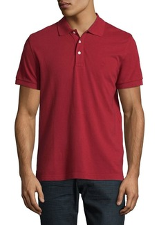 Brooks Brothers Red Fleece Cotton Short-Sleeve Polo