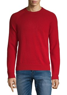 Brooks Brothers Red Fleece Crewneck Wool Sweater