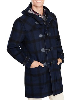 Brooks Brothers Red Fleece Double-Faced Plaid Duffel Coat