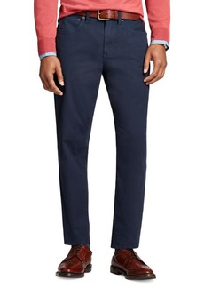 Brooks Brothers Red Fleece Five-Pocket Bedford Pants