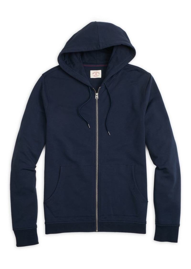 Brooks Brothers Red Fleece French Terry Zip Hoodie