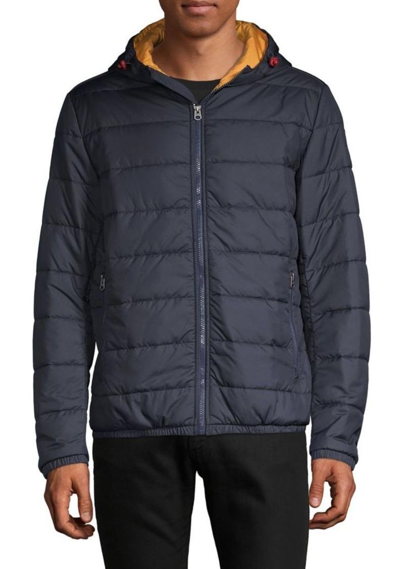 Brooks Brothers Red Fleece Full-Zip Puffer Jacket