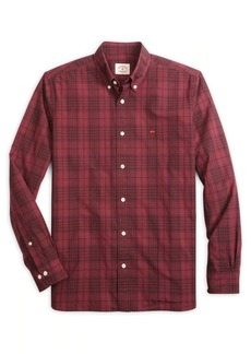 Brooks Brothers Red Fleece Garment-Dye Plaid Shirt