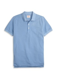Brooks Brothers Red Fleece Garment-Dyed Cotton Pique Polo