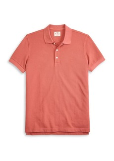Brooks Brothers Red Fleece Garment-Dyed Pique Cotton Polo