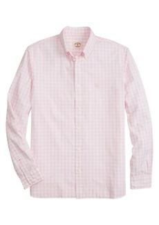 Brooks Brothers Red Fleece Gingham Shirt