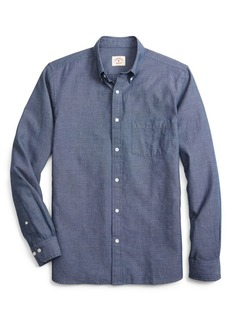 Brooks Brothers Red Fleece Indigo Dobby End-on-End Shirt