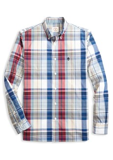 Brooks Brothers Red Fleece June Yarndyes Plaid Broadcloth Button-Down Shirt